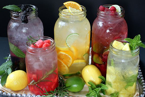 Fruit and Flavored Water