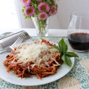 Brocolli Slaw Spaghetti